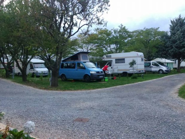 emplacements Camping l'Olivier Anduze