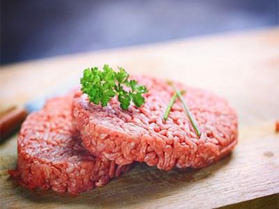 Lot steaks hachés