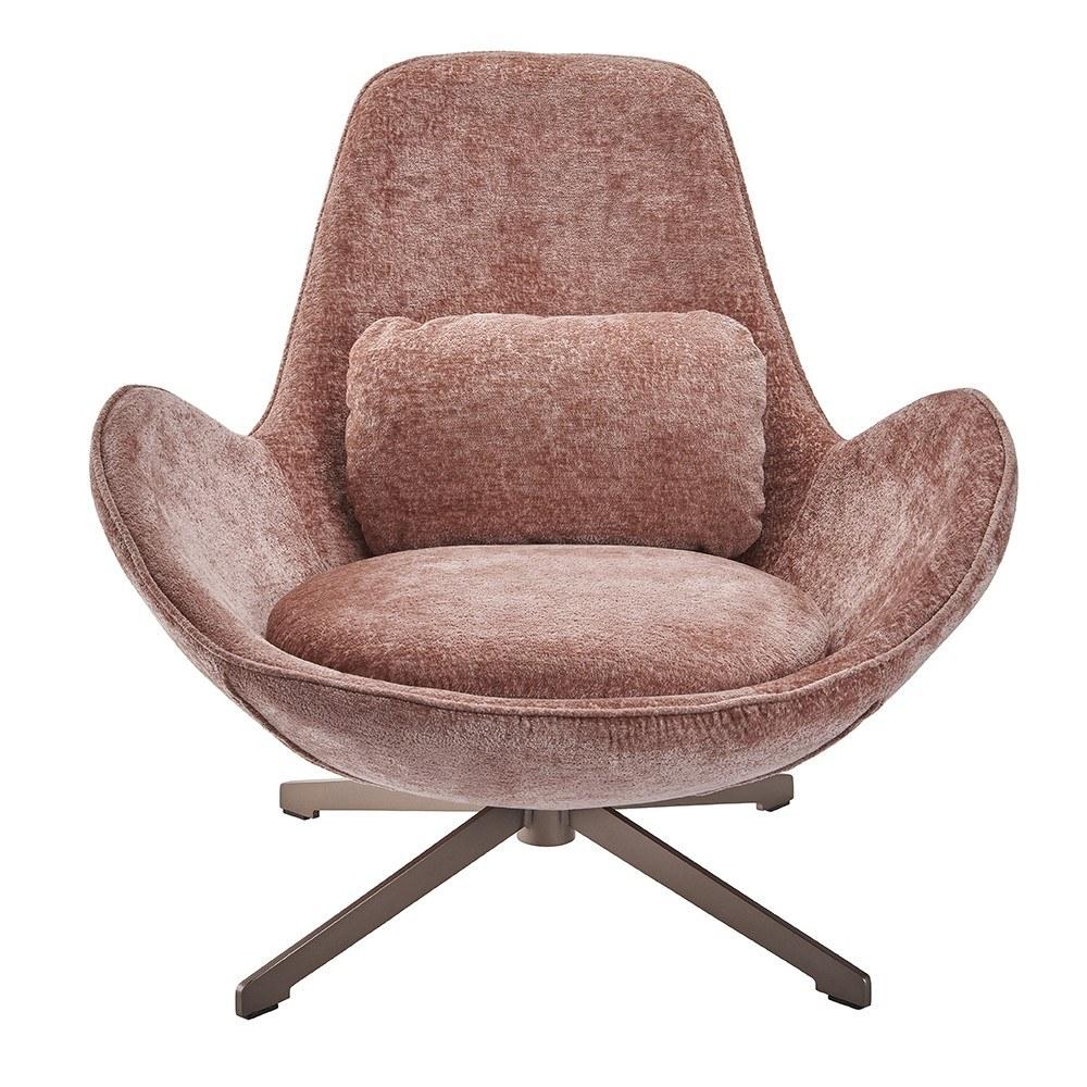 fauteuil-queen-rose-pivotant 4