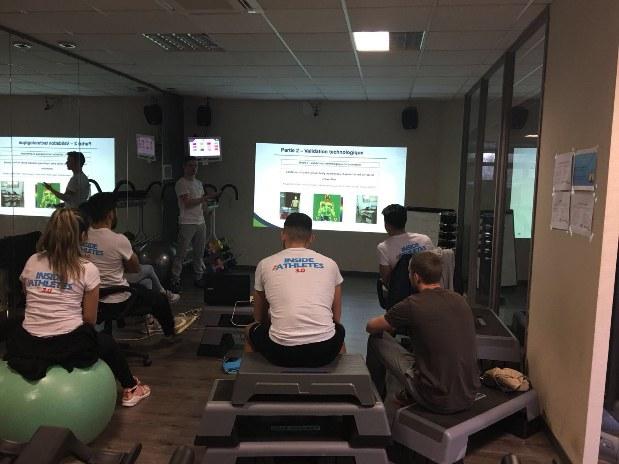 Inside the athletes 3.0 conférence scientifique sport adapté entraînement besancon fitness