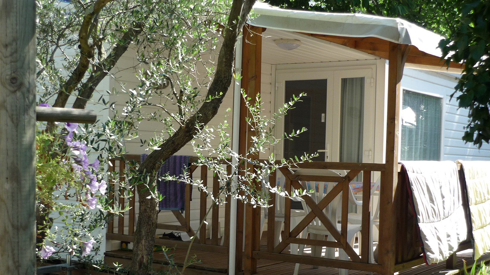 Camping l'Olivier Mobilhome