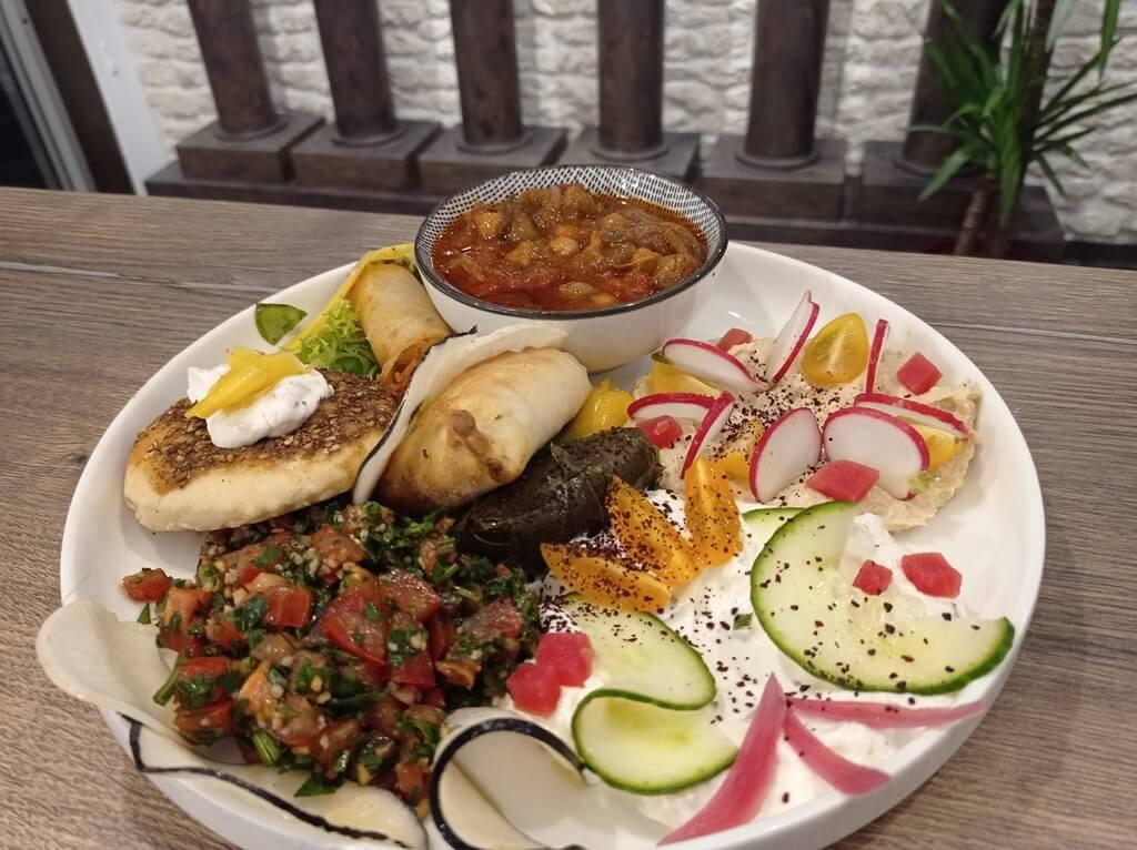 Plat Veget Diwan : restaurant libanais à Poitiers