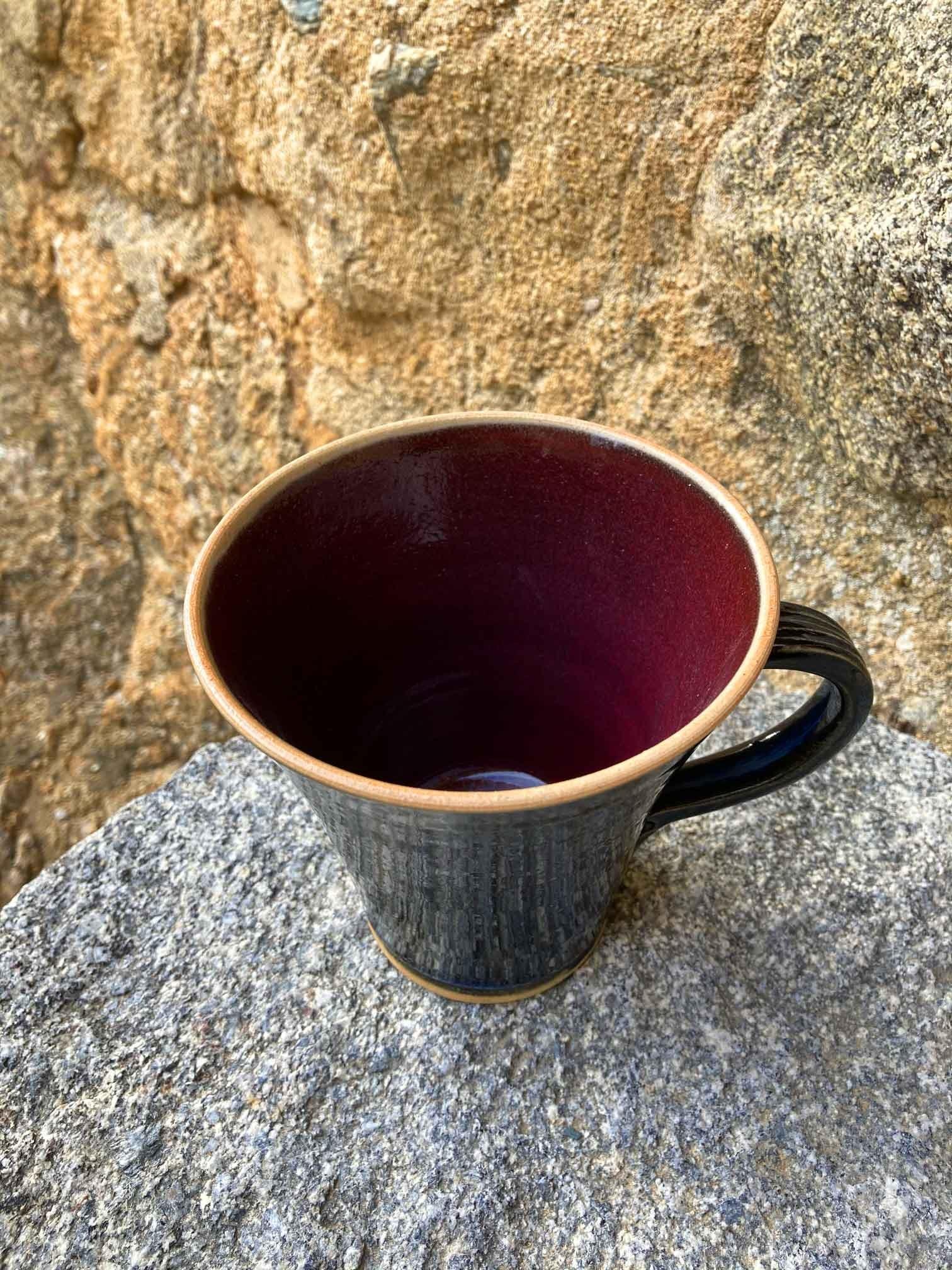 022-Mug-grès-bleu-et-rouge