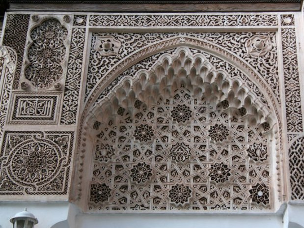 palais de la bnahia riad chamali medina de marrakech morocco