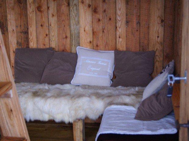 Cabane du Saut du Chevreuil intérieur