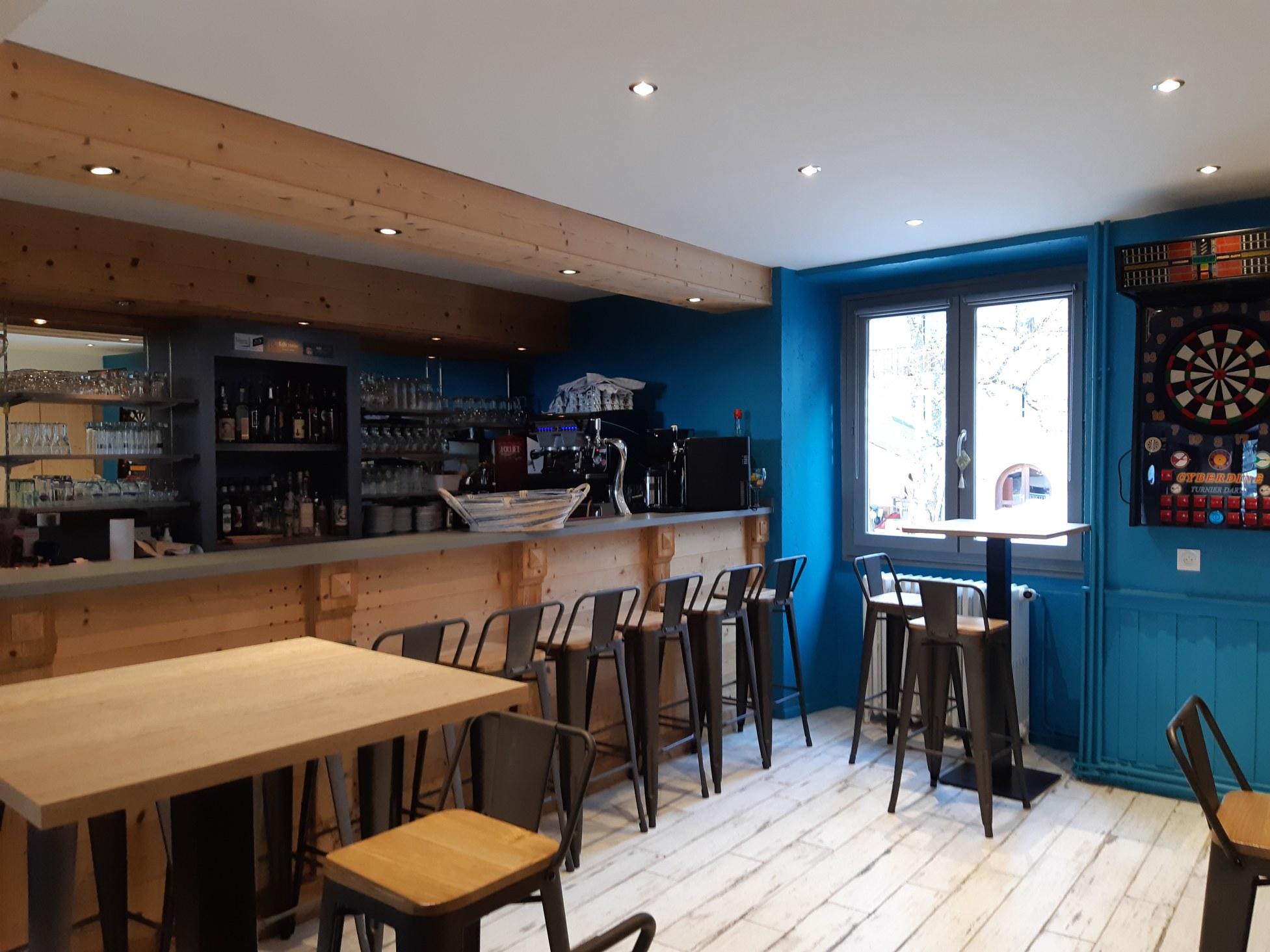 bar hotel les essarts Valloire