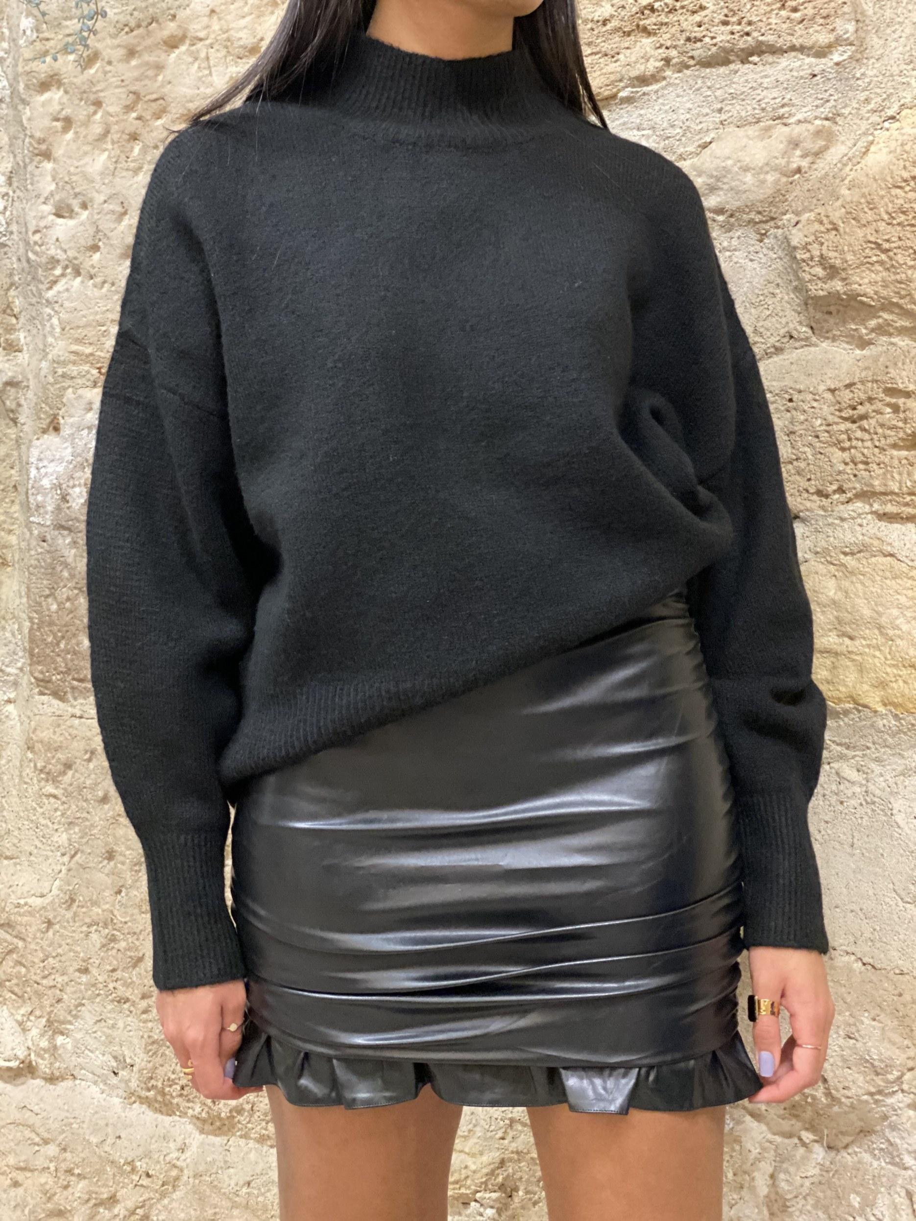 jupe-simili-cuir-imal-paris
