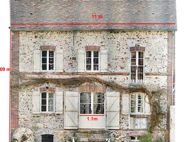 lidar-topographie-imagerie-aerienne-Orthophoto-bâtiment-façade