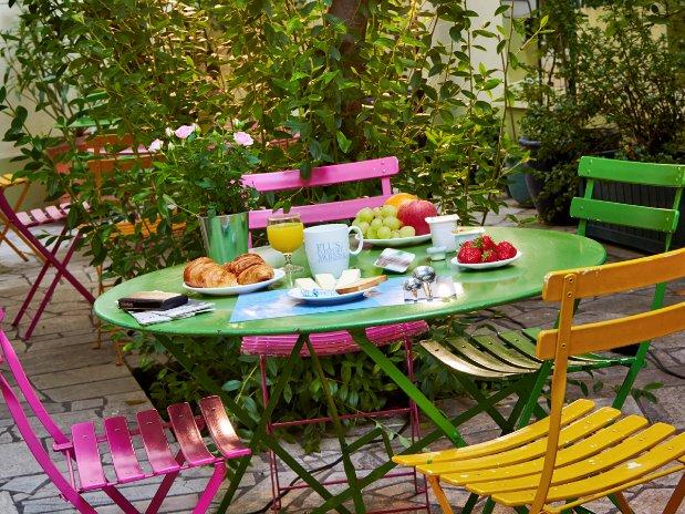 petit-déjeuner hotel Kyriad Paris république