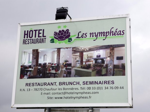 Hotel restaurant Les Nymphéas Eure Giverny