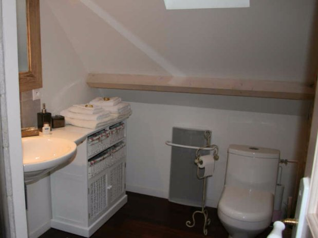 chambres d'hôtes-garnet-eure et loire-Folle farine-sdb