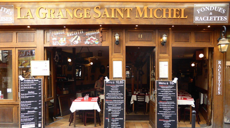La Grange Saint Michel Raclette Fondues Pierrades