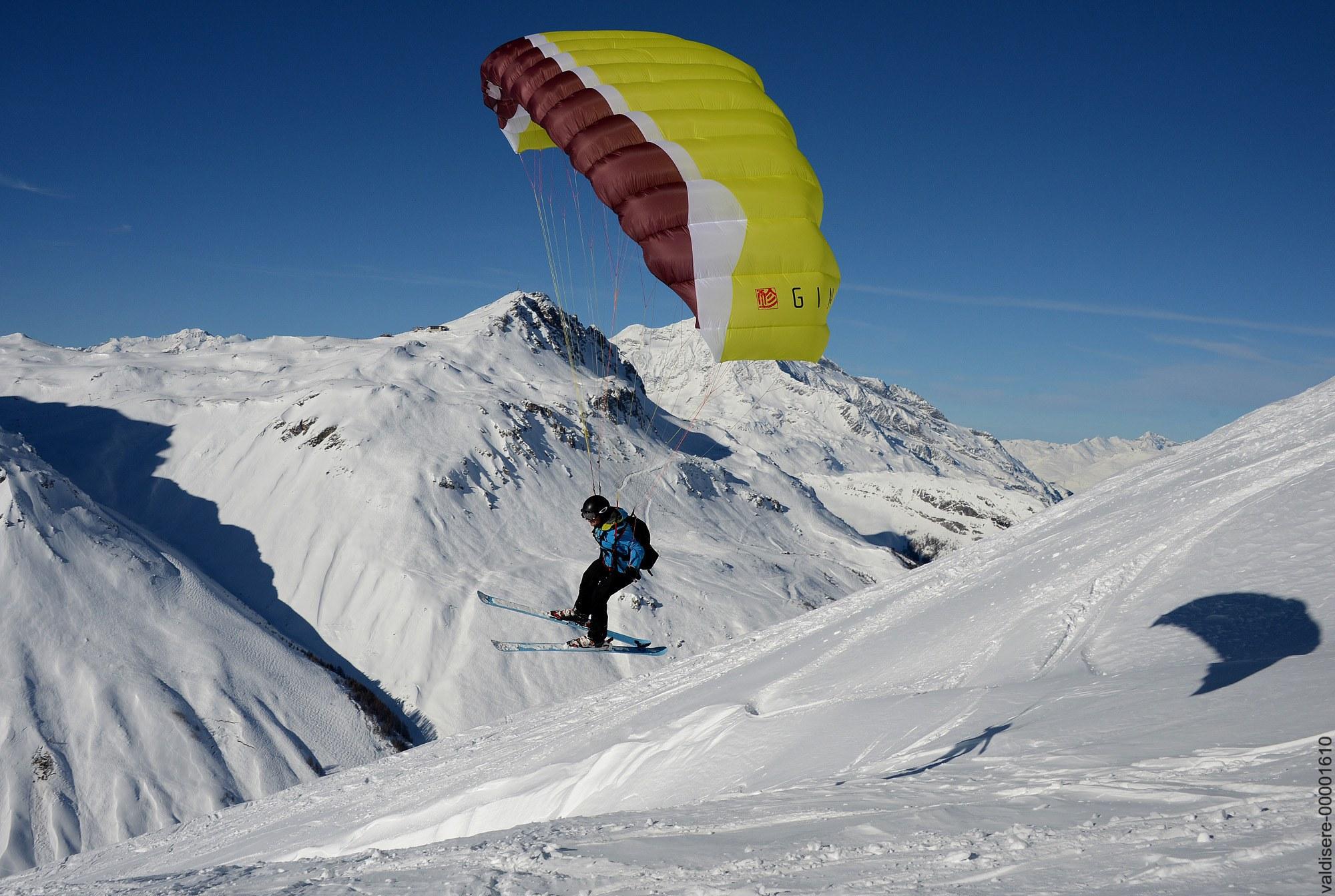 Parapente - Speed Riding - Val d'isère