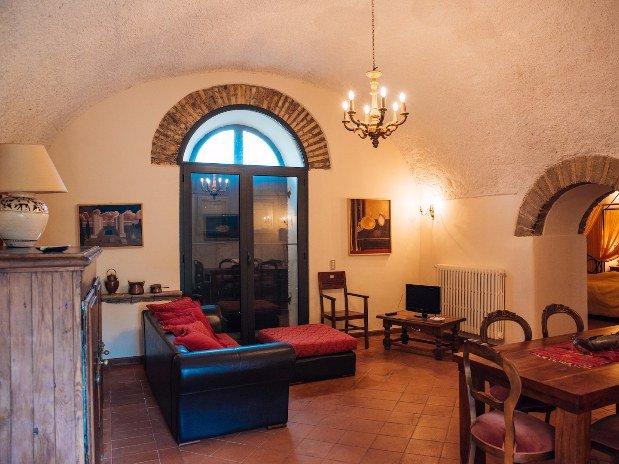 rifugio di ercole Castello Santa Margherita Salotto