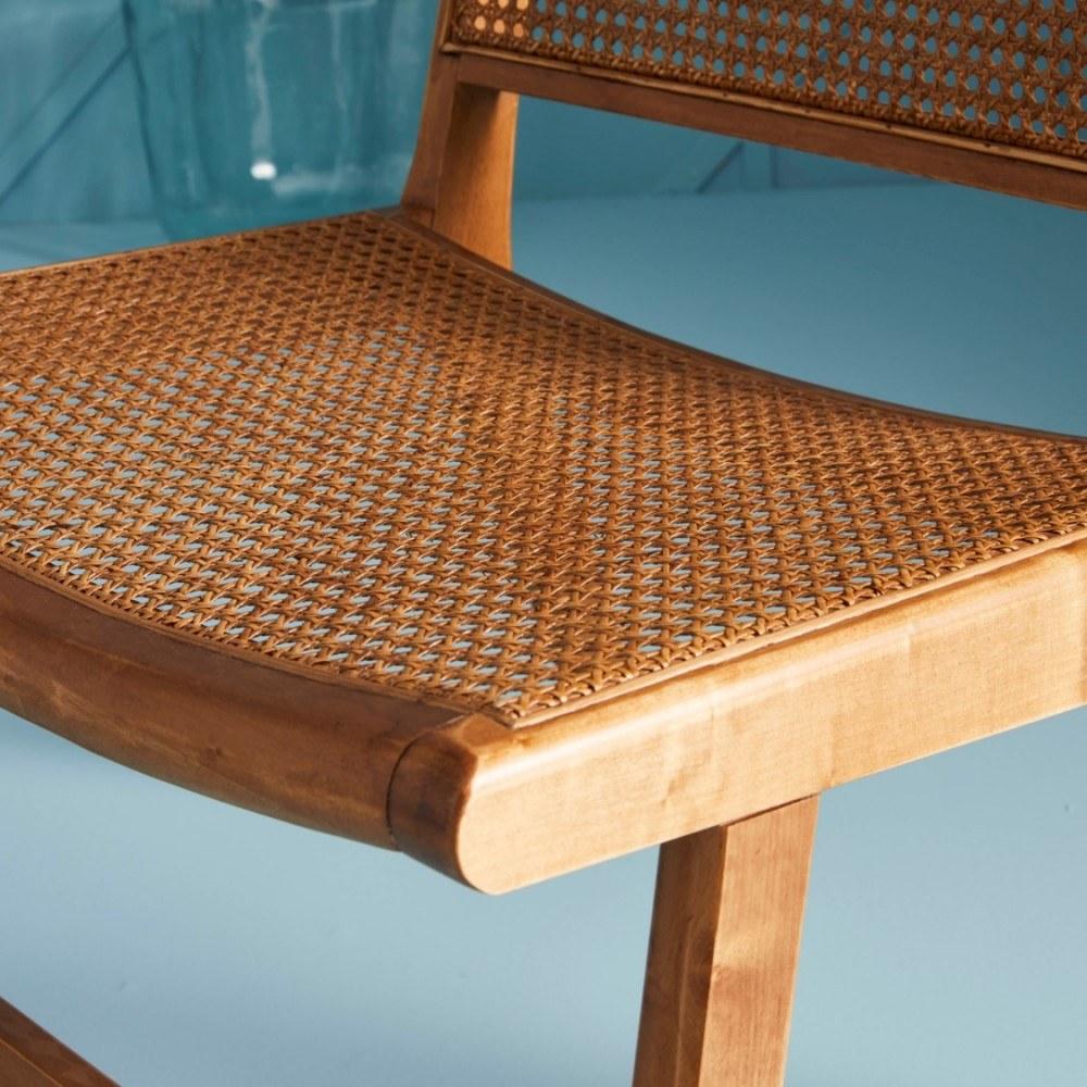 fauteuil canné 2
