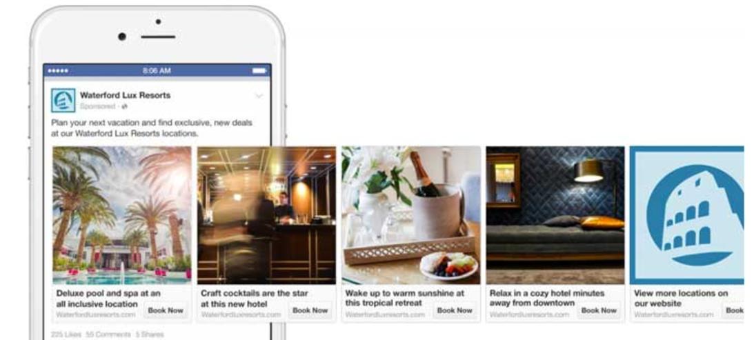 Facebook Ads c'est quoi formats