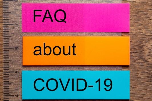 FAQ (Foire A Questions)  COVID 19