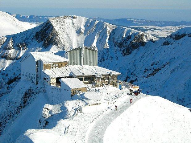 ski - tourisme - auvergne - la bourboule - mont dore - camping poutie -station altitude- puy de sancy