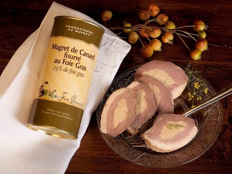 magret fourré au foie gras Merveilles et Compagnie