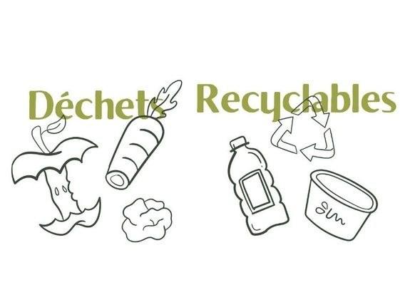 déchet recyclable