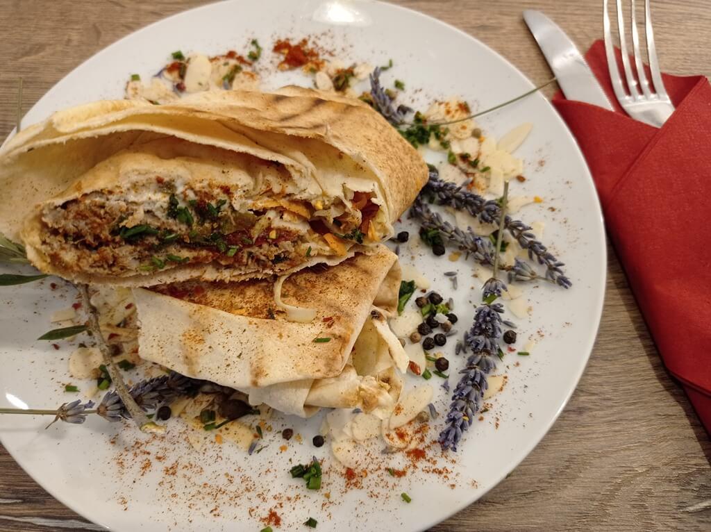 le sandwich libanais Diwan : restaurant libanais à Poitiers
