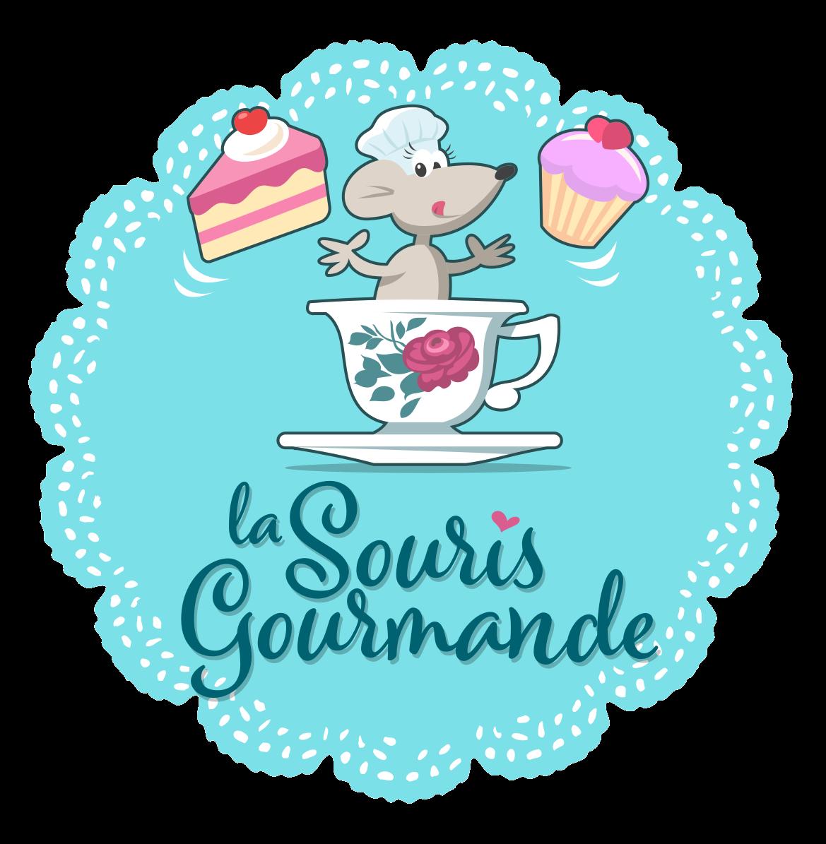 logo La Souris gourmande Gray