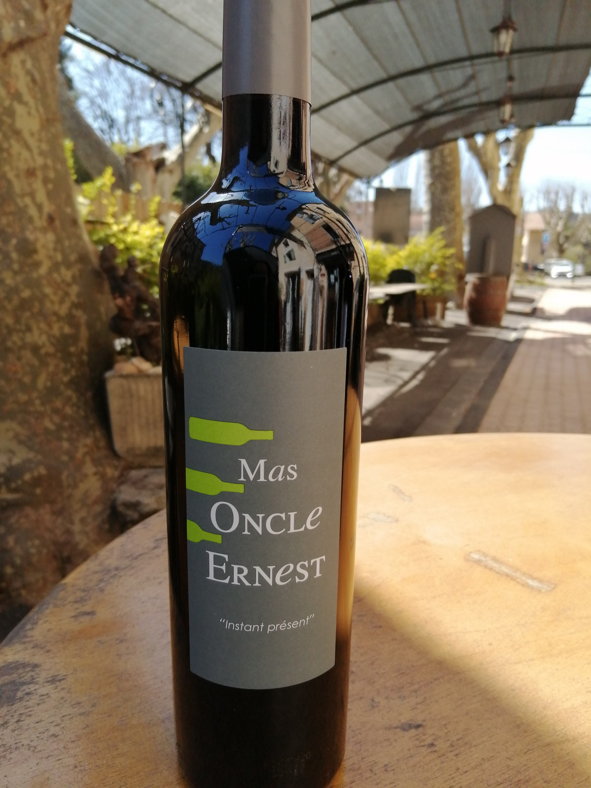 Mas Oncle Ernest. Instant Présent. AOP Ventoux 2019
