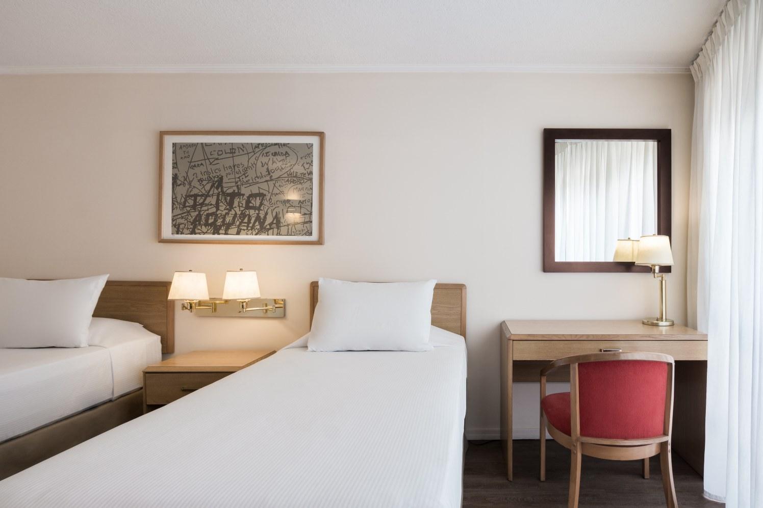 39 Habitación Standard Twin - Days Inn Montevideo 2020