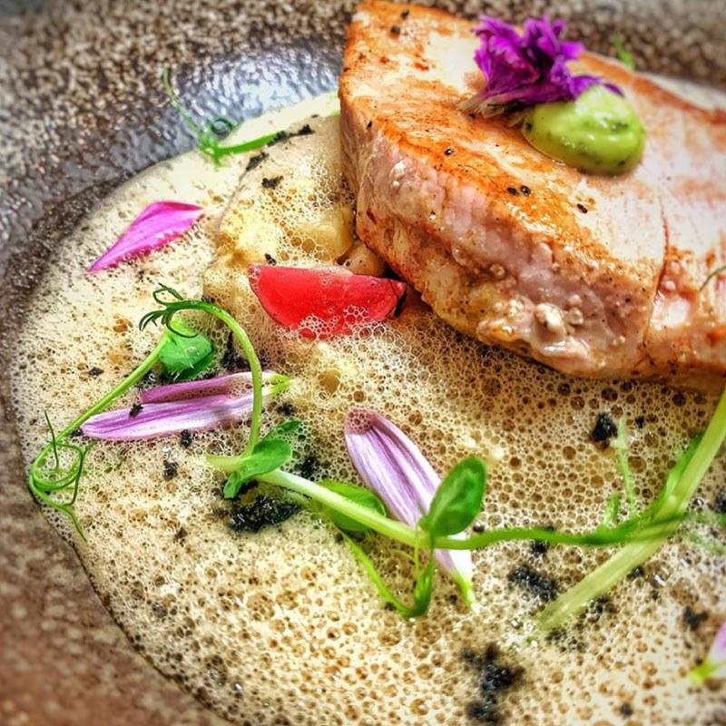 plat 7 Restaurant La Rencontre à Perpignan dans le département des Pyrénées-Orientales, cuisine, produits frais et vin