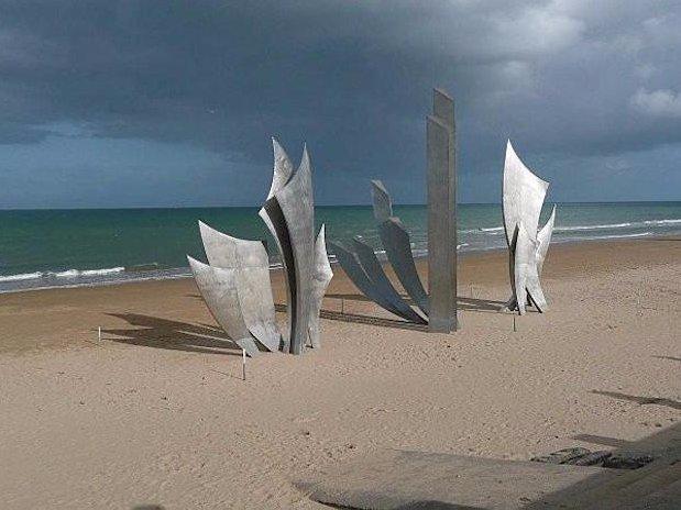 Le mémorial d'Omaha Beach
