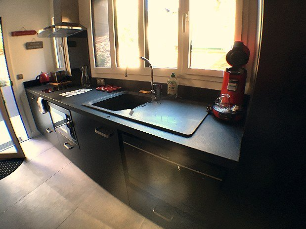 cuisine appartement privatif Garden apparts