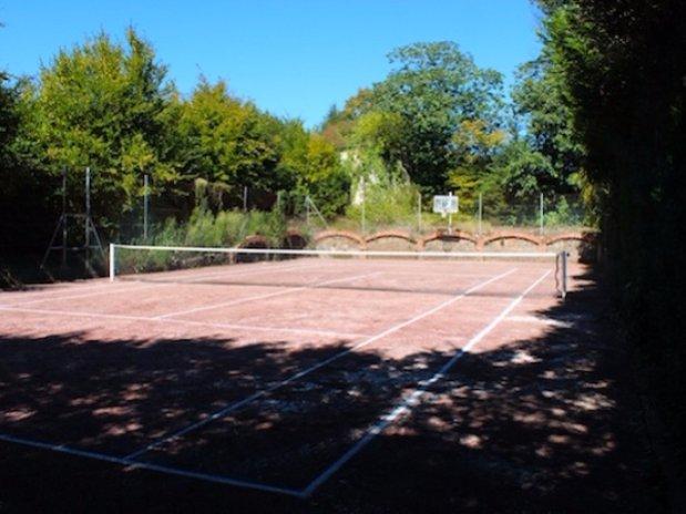 Tennis Domaine Cèdres Loire Château