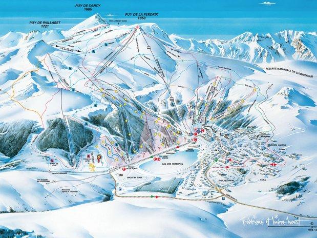 ski - tourisme - auvergne - la bourboule - mont dore - camping poutie - domaine skiable - puy de sancy - super besse