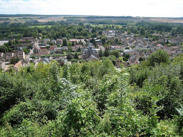 vue du château Ivry-la-Bataille