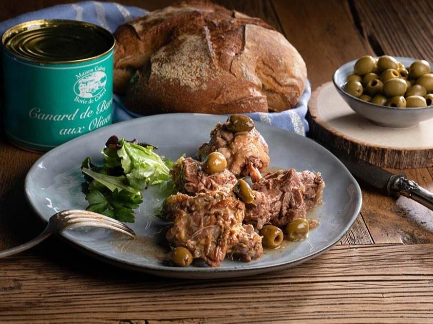 Merveilles et Cie Canard-Barbarie-aux-olives