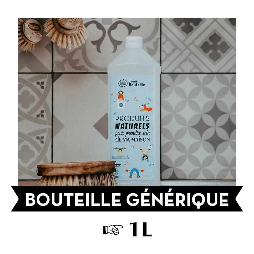 [G100L] Bouteille plastique - Buanderie 1L