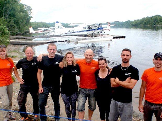équipe hydravion