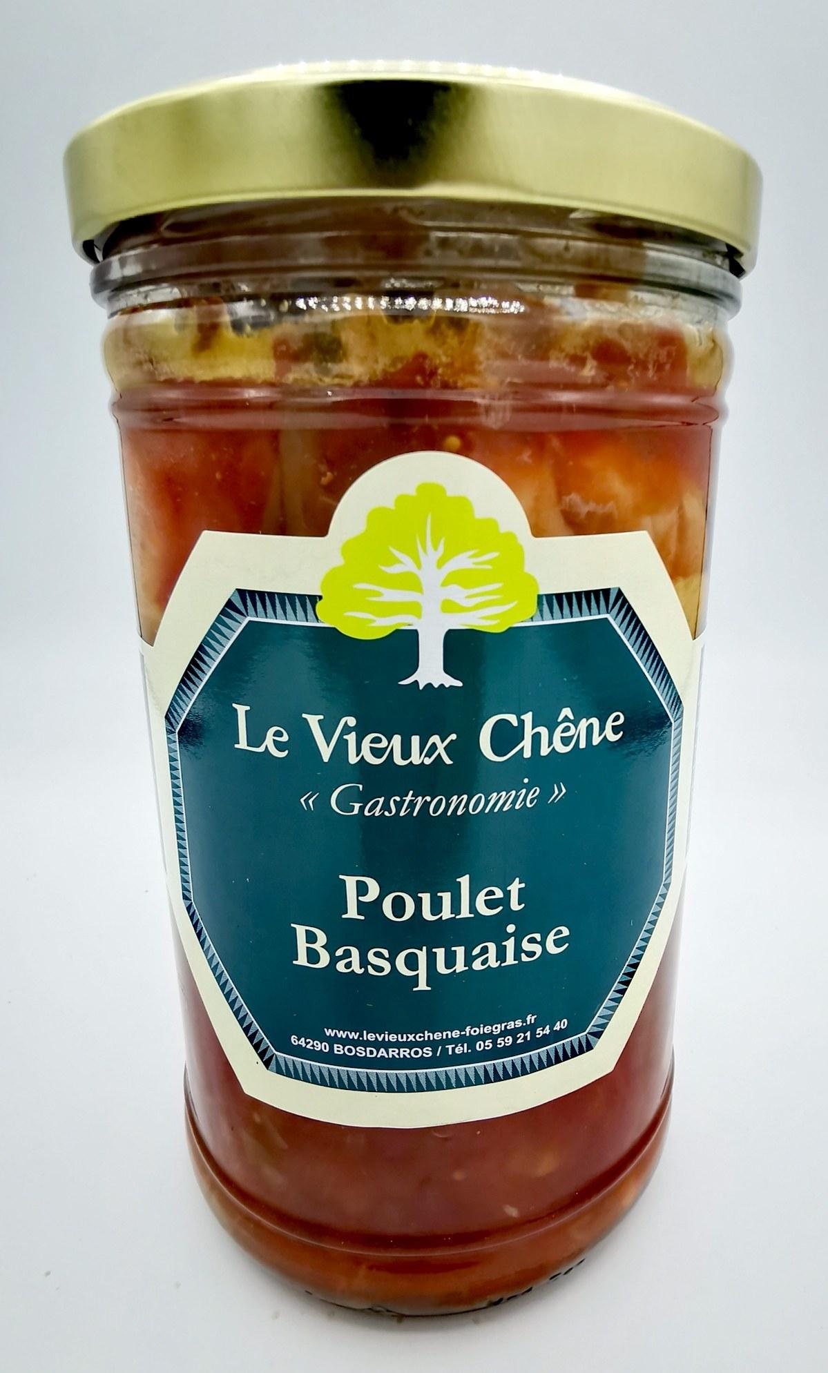 Poulet Basquaise - Le Vieux Chêne - charcuterie - vallée d'aspe - local