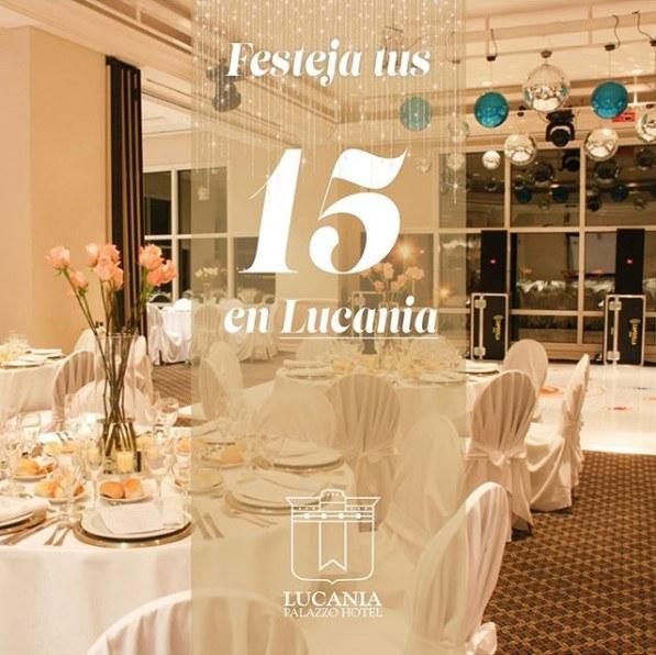 Festeja tus 15 en Lucania