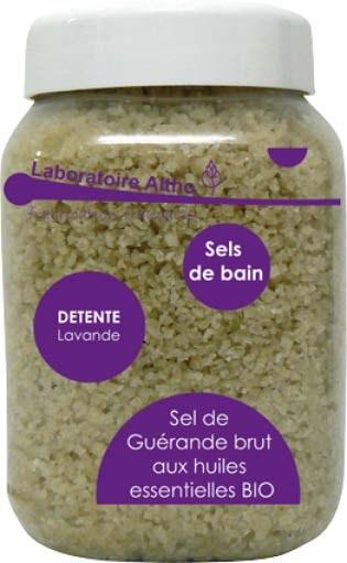 sel de bain détente-huiles essentielles - les trésors de Valérie - Moselle