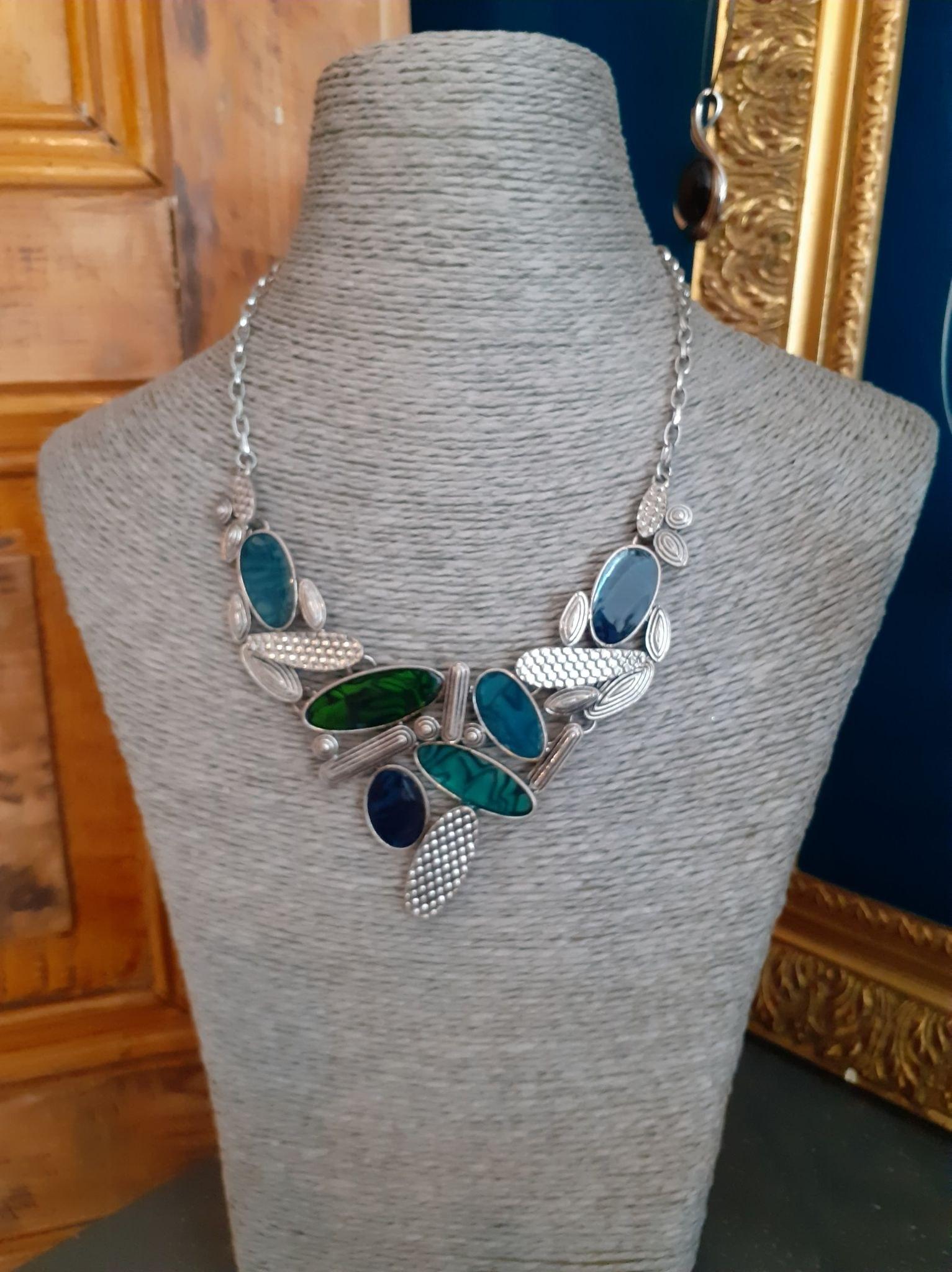 ELLIPSE Bleu/Vert