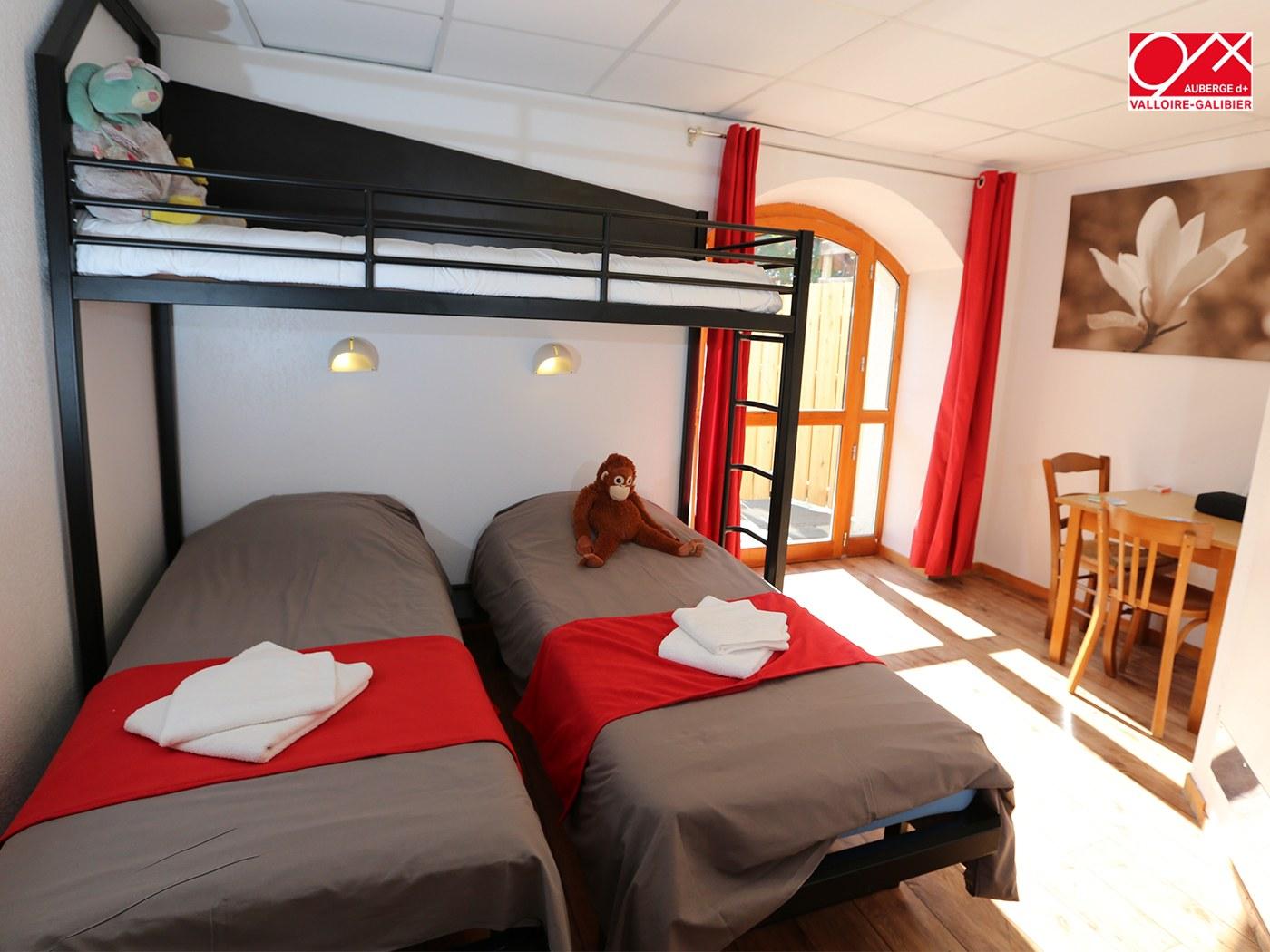 chambre triple - Auberge - Valloire