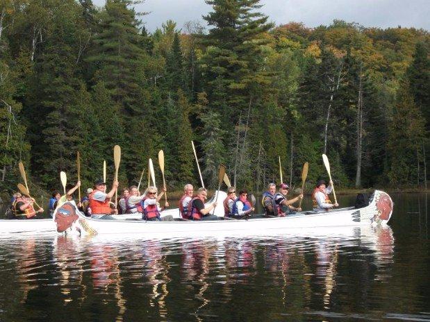 Pourvoirie du lac blanc saint alexis des monts sejour amerindien
