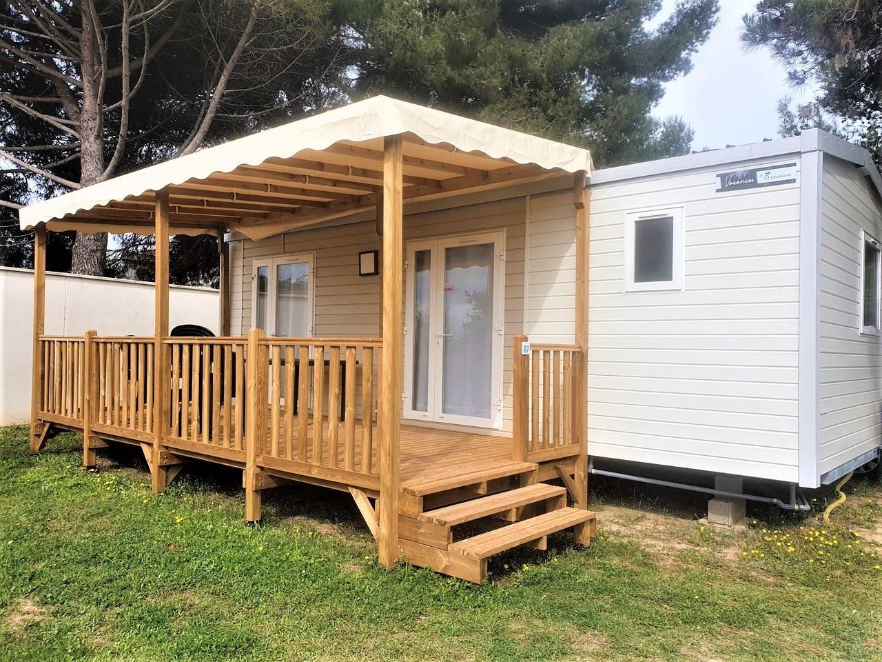 loggia premium exterieur - camping familial meze plage piscine