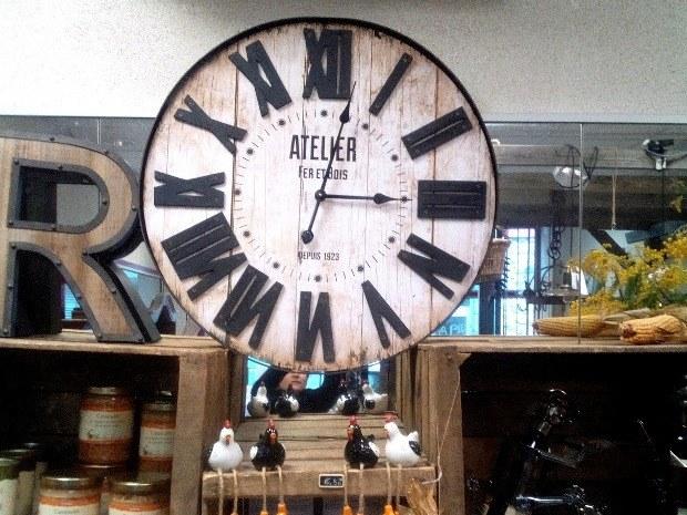 Horloge-Pendule-Bois-et-Fer-Atelier