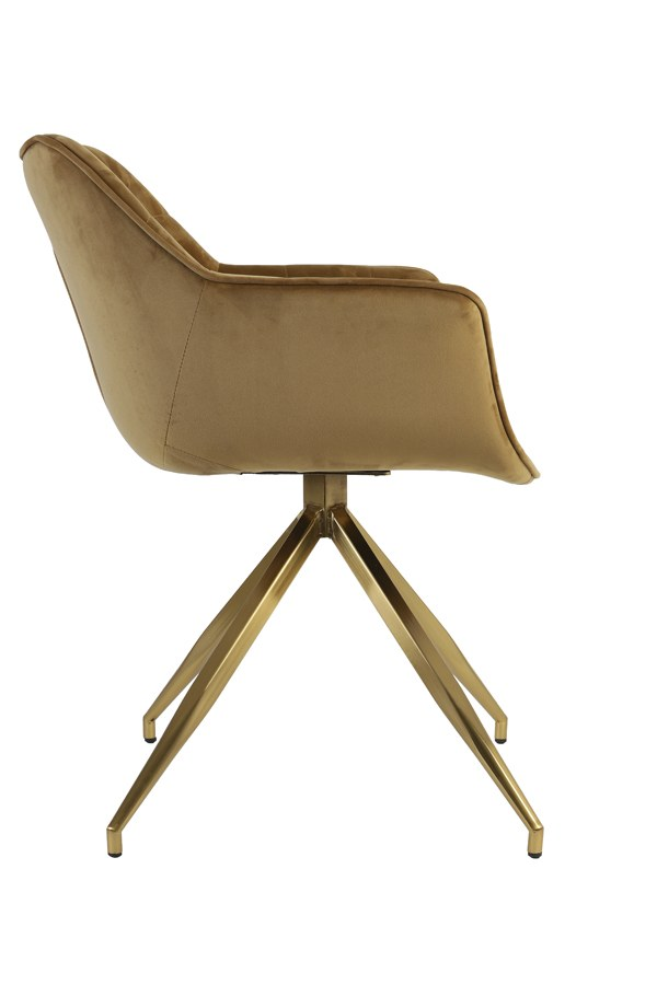 chaise jaimy caramel 1