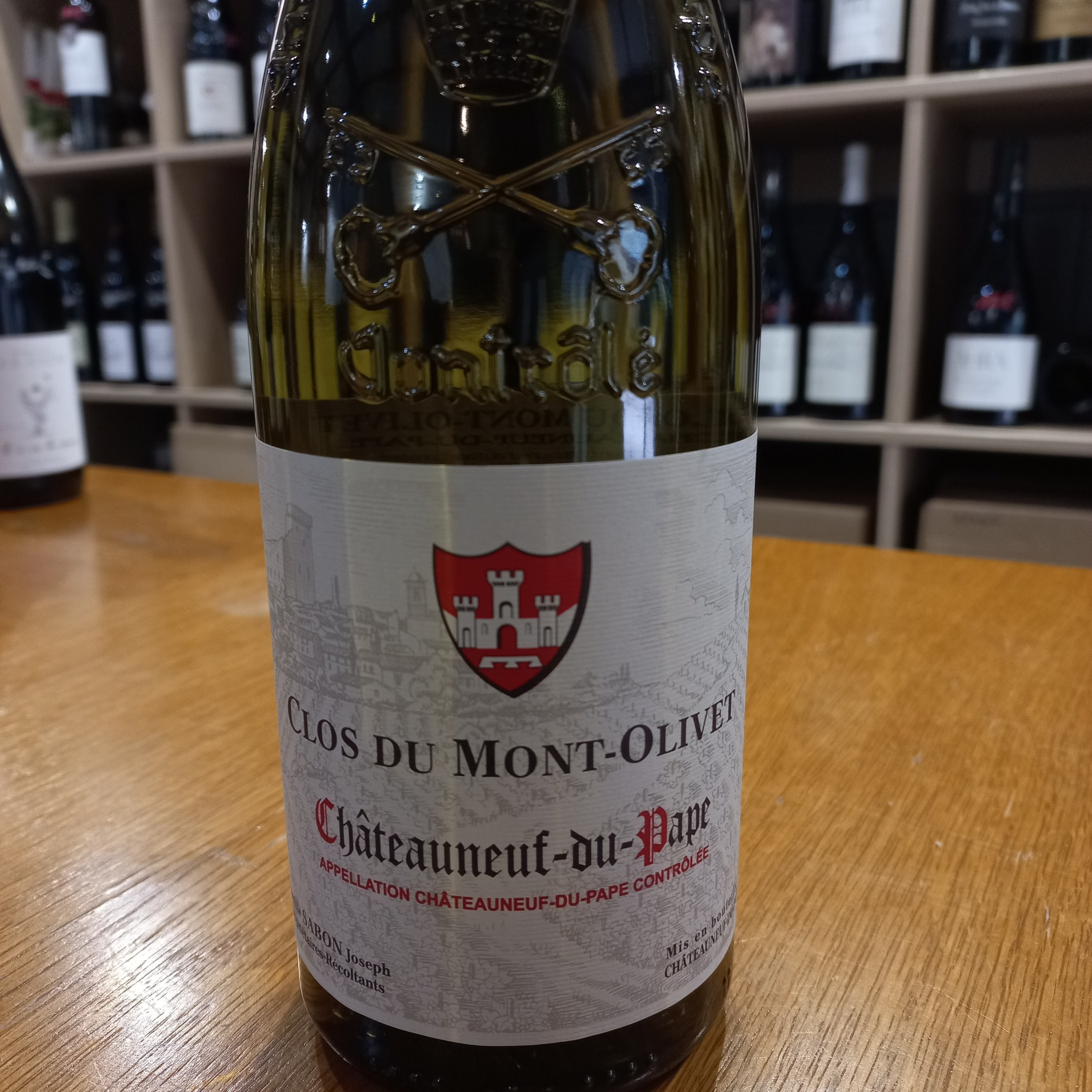 Clos Mont Olivet. Châteauneuf du Pape Blanc 2020