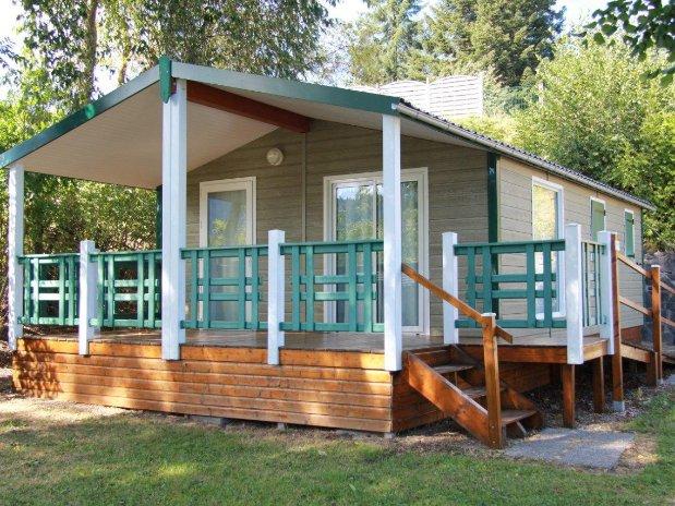 mobil home - camping poutie - auvergne - familles - randonnées - la bourboule