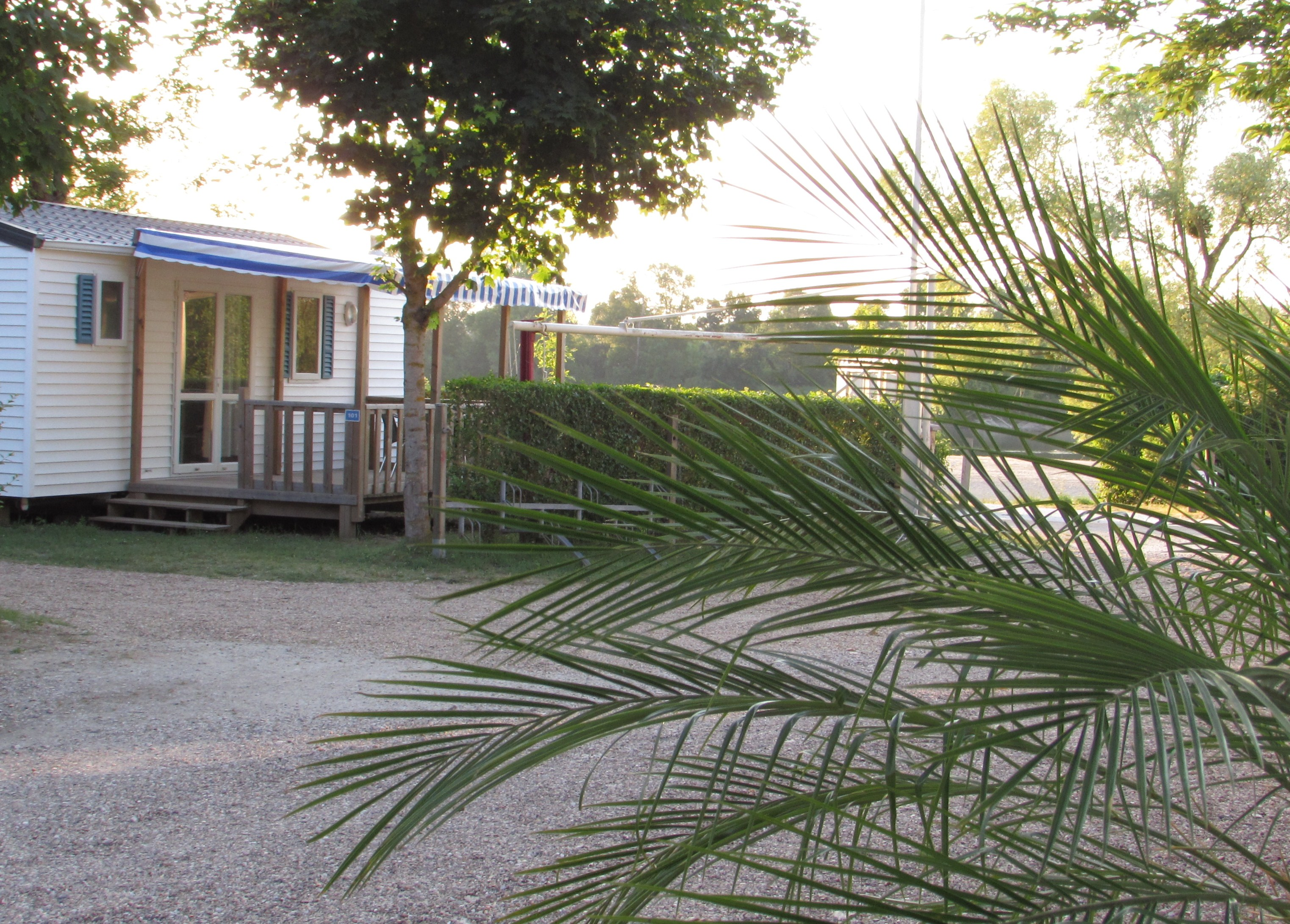 Family campsite with Loire view