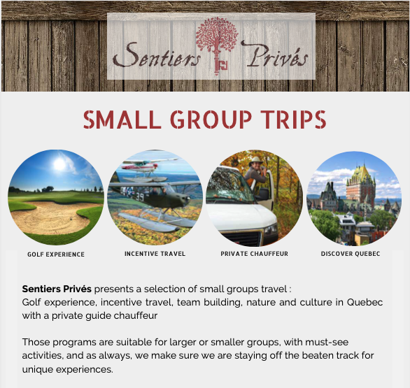 Small group trips